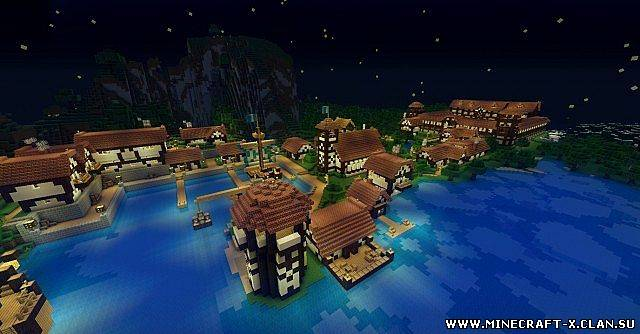 Скачать карту City of Ethras для minecraft бесплатно